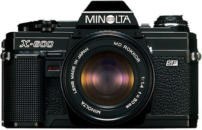 Minolta X-600