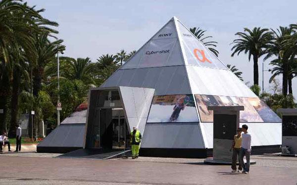 Sony pyramide