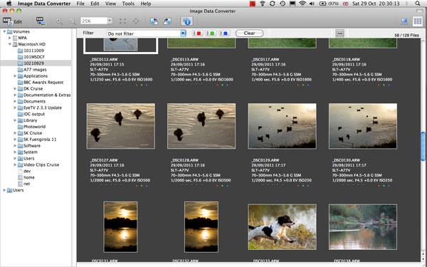 Image data converter