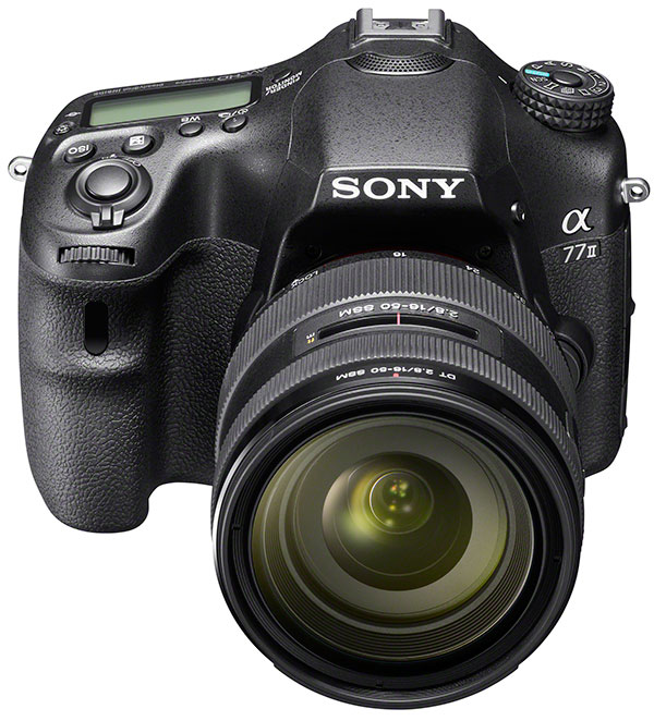 Sony-A77-II_wSAL1650_front_top-web
