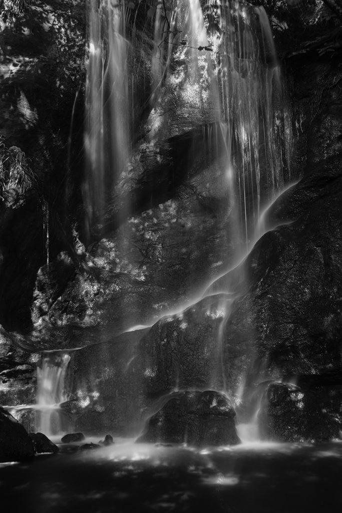 Roughting Linn, Northumberland - the waterfall.
